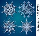 Elegance Christmas Snowflake...