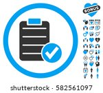 apply form icon with bonus... | Shutterstock .eps vector #582561097
