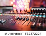 od adjusters and red buttons of ... | Shutterstock . vector #582572224