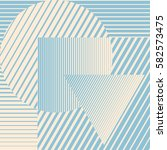blue color minimalistic design... | Shutterstock .eps vector #582573475
