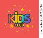 Kids Club Letter Sign Poster...