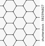vector seamless pattern. modern ... | Shutterstock .eps vector #582596827