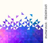 background of geometric shapes. ... | Shutterstock .eps vector #582604165