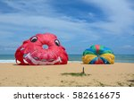 phuket  thailand   jun 19  2016.... | Shutterstock . vector #582616675