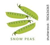 Snow Peas Illustration ...