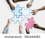 togetherness connection... | Shutterstock . vector #582646081