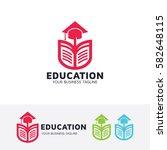 education  academy  school ... | Shutterstock .eps vector #582648115