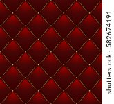 quilted pattern background vip... | Shutterstock .eps vector #582674191