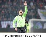 krakow  poland   february 11 ... | Shutterstock . vector #582676441