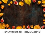 concept autumn cold treatment... | Shutterstock . vector #582703849