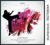 karate  sport vector...   Shutterstock .eps vector #582708064