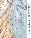 wooden | Shutterstock . vector #582737425