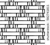 seamless stripe pattern.... | Shutterstock .eps vector #582741811