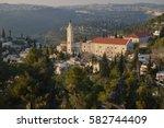 ein karem  jerusalem  israel ...   Shutterstock . vector #582744409