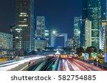 skyscrapers in paris business... | Shutterstock . vector #582754885