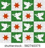 endless texture for wallpaper ... | Shutterstock . vector #582760375