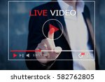 Live Video Streaming Concept...