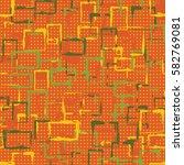 seamless pattern. careless... | Shutterstock .eps vector #582769081