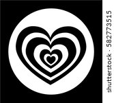 heart icon | Shutterstock .eps vector #582773515