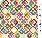 endless abstract pattern.... | Shutterstock .eps vector #582775795