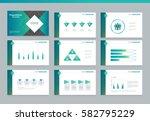 presentation background design...   Shutterstock .eps vector #582795229