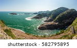 beautiful coastline of hyuga... | Shutterstock . vector #582795895