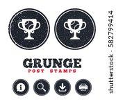 grunge post stamps. tennis ball ...   Shutterstock .eps vector #582799414