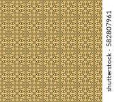 creative geometric seamless... | Shutterstock .eps vector #582807961