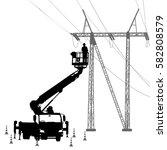 Electrician  Making Repairs At...