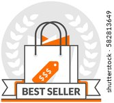 best sellers   infographic icon ...