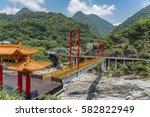 cheung de temple in taroko...   Shutterstock . vector #582822949