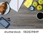a background of office... | Shutterstock . vector #582829849