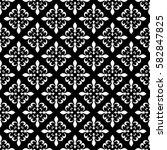 fleur de lis seamless pattern.... | Shutterstock .eps vector #582847825