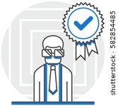 specialist   infographic icon...