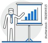 training   infographic icon...