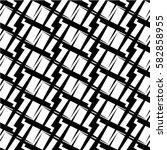 seamless geometric pattern.... | Shutterstock .eps vector #582858955