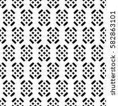 vector seamless pattern. ... | Shutterstock .eps vector #582863101