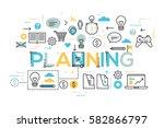 creative infographic banner...   Shutterstock .eps vector #582866797