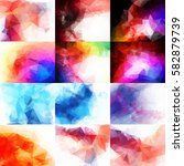 abstract background elements... | Shutterstock .eps vector #582879739
