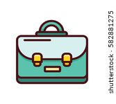 briefcase icon | Shutterstock .eps vector #582881275