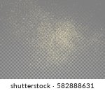 vector golden glitter wave... | Shutterstock .eps vector #582888631