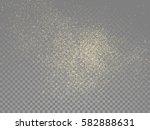 vector golden glitter wave... | Shutterstock .eps vector #582888631