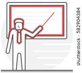 teaching   infographic icon...