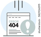error page 404   infographic...
