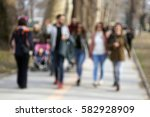 out of focus  blurred ... | Shutterstock . vector #582928909