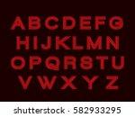 alphabet  | Shutterstock .eps vector #582933295