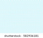 light blue wavy seamless... | Shutterstock .eps vector #582936181