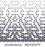 abstract geometric purple... | Shutterstock .eps vector #582950479