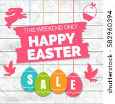 Happy Easter Sale Offer  Banner ...