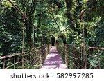 adventure on bridge in... | Shutterstock . vector #582997285